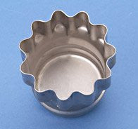 "3"" Scalloped Cookie Cutter - Steel"