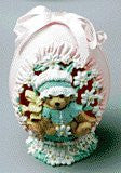 Cherished Teddies Sculpted Egg