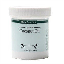 Coconut Oil, Natural (not a flavor) 4 oz