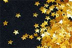Edible Glitter Stars - Gold - 20 grams
