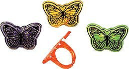 Butterfly Rings - 144 Count