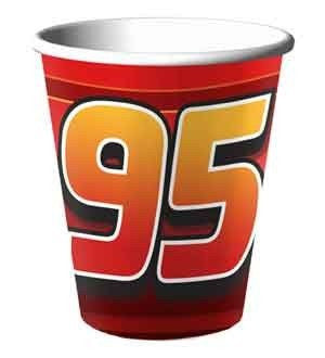 Cars 9 oz. Paper Cups