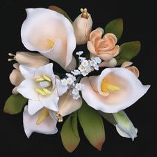 Casablanca Lily Topper-Medium-Ivory