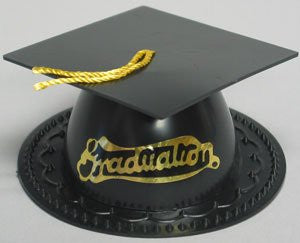 Graduation Hat - Black / 24 pcs /bx