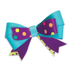 CONFETTI TIME FLEXI-BOW / 6 pcs