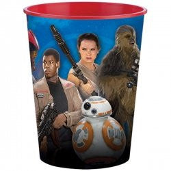 Star Wars The Force Awakens 16 oz Plastic Cups