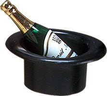 "Champagne Top Hat  - 2-1/2""- 72 / Box"