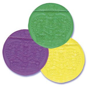 MARDI GRAS JEWEL CROWN DOUBLOON COINS