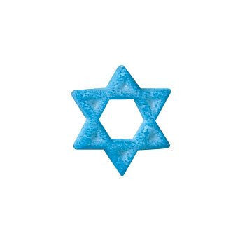 Star of David Dec-Ons Sugar Decorations