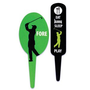 GOLF FLEXI PICKS (PRINTED ON BOTH SIDES)