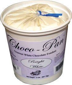 Choco-Pan 10 Lb Fondant Bright White