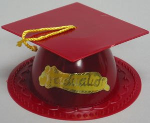 Graduation Hat - Maroon/Burg.  - 24 /Box