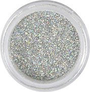 Disco Hologram Silver Dust