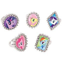My Little Friendship Pony Rings