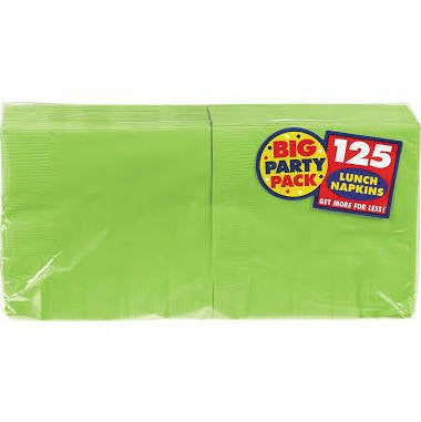 Amscan Big Party Pack Kiwi Luncheon Napkins