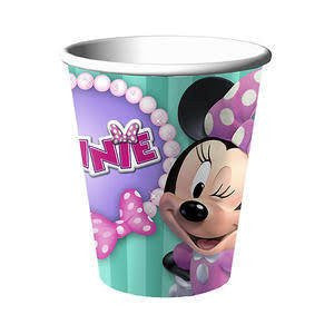 Minnie Mouse 9 oz Paper Cups