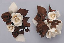 Chocolate & Cream Rose Combo Sprays