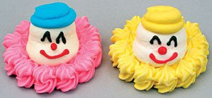 Icing Clown Heads