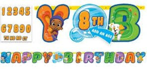 Bubble Guppies Add A Number Banner