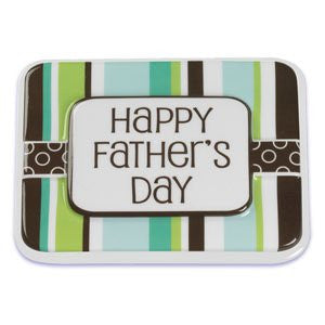 STRIPES AND DOTS HAPPY FATHER'S POP TOPS