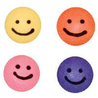 Smiley Icing Faces - Small Assorted