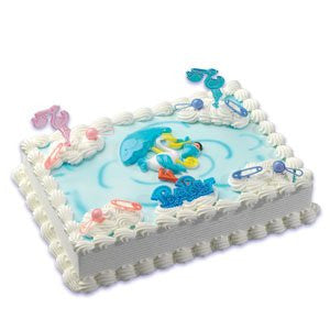 BABY SHOWER/STORK CAKE KIT
