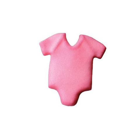 Baby Onepiece Pink Dec-Ons? Sugar Decorations