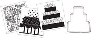 Cookie Cutter Texture Set-Wedding Cake