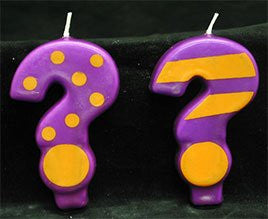 "Crazy Number Candles ""?"" 12 Count"