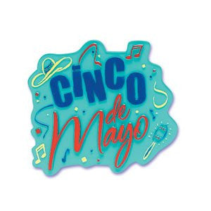 CINCO DE MAYO JEWEL PLAQUE