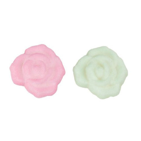 Baby Rose Assortment Dec-Ons? Sugar Decorations