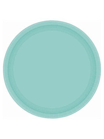 Amscan Big Party Pack Robin's Egg Blue Paper Dinner Plates