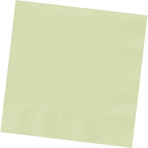 Amscan Big Party Pack Leaf Green Beverage Napkins