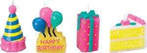 Party Time Novelty Candles