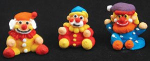 3d Funny Clowns Icings - Assorted