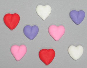 Mini Hearts Assorted Colors