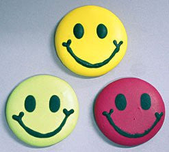Smiley Face Icings - Asst