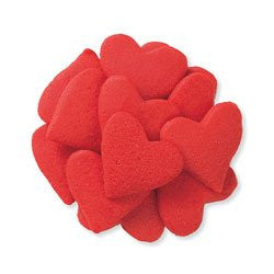 Jumbo Heart-Quins (Red) - 5 Lbs.