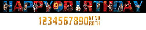 Star Wars The Force Awakens Jumbo Add-an-Age Banner