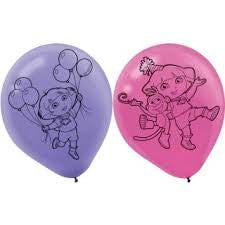 Dora's Flower Adventure Latex Balloons