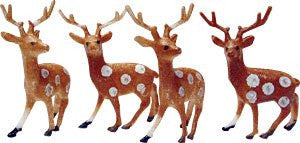 "Small Reindeer - 1-1/2"" - 72 / Box"