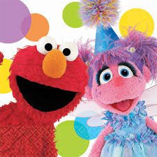 Elmo & Abby Beverage Napkins