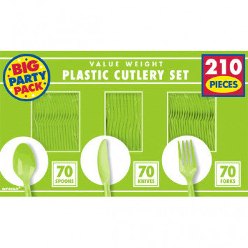 Kiwi Value Window Box Cutlery Set, 210ct