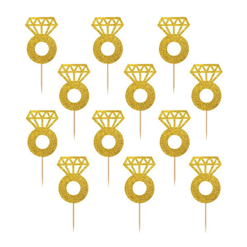 Diamond Ring Glitter Picks