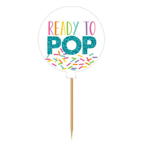 Ready To Pop Glitter Picks