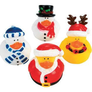 Holiday Rubber Duckies