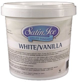 Satin Ice Fondant 2 lb White