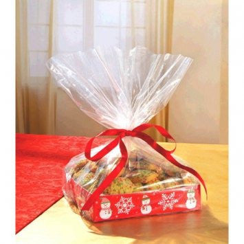 Small Snowman Treat Tray w/ Cello Bag