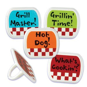 GRILLIN TIME LABEL RINGS
