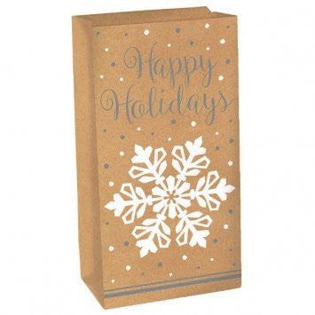 Snowflake Treat Sack